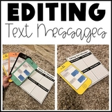 Editing Text Messages (Distance Learning)
