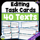 Punctuation Worksheets | Grade 4-7 | Editing Texts | NAPLA