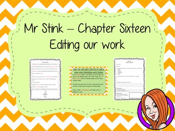 Editing Writing Complete Lesson  – Mr Stink