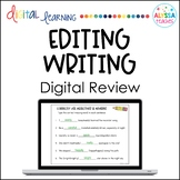 Editing Writing Digital Activities - Distance Learning