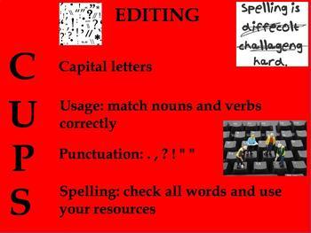 Editing Writing Poster