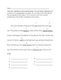 Editing a Paragraph Worksheet