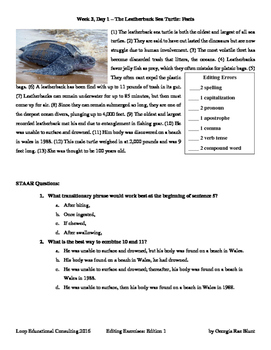 Editing and Expository Prompts with Sea Creatures, Scientists, and South America