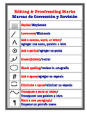 Editing and Proofreading Marks- Bilingual