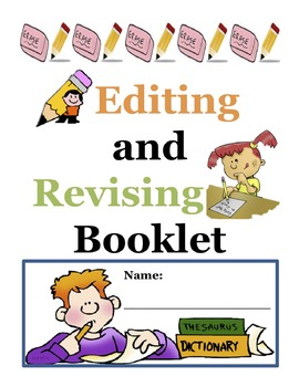 Editing and Revising Booklet