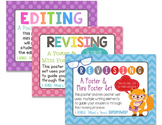 Editing and Revising Bundle: 3 Poster and Mini Poster Sets