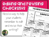 Editing and Revising Checklists