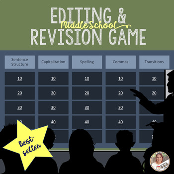 Editing and Revising Game
