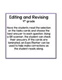 Editing and Revising QR Codes-Task Cards