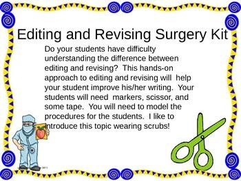 Editing and Revising Surgery