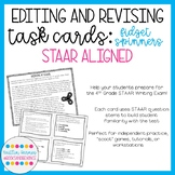 Editing and Revising Task Cards: Fidget Spinners (STAAR Aligned)