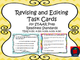 Editing and Revising Task Cards STAAR Prep