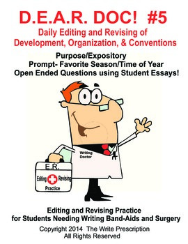 DEAR DOC-Daily Editing and Revising of Development Organization & Conventions #5