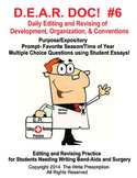 DEAR DOC-Daily Editing and Revising of Development Organization & Conventions #6