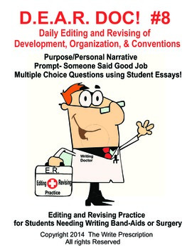 DEAR DOC-Daily Editing and Revising of Development Organization & Conventions #8