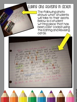 Editing and Revising on a Ring: Independent Activities to Improve Writing