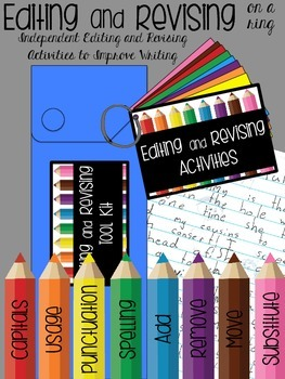 Editing and Revising on a Ring: Independent Activities to