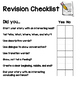 Editing and Revision Checklist