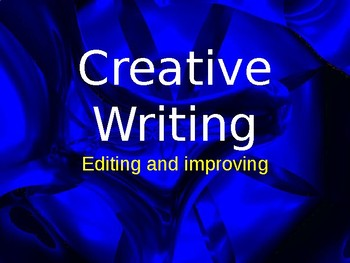 Editing and improving your writing