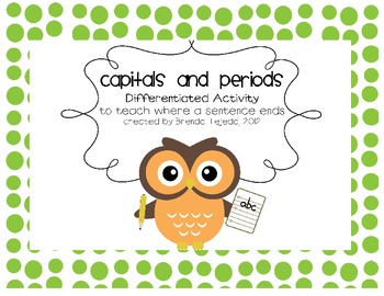 Editing for periods: A Differentiated Activity