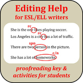 Editing help for ESL/ELL writers
