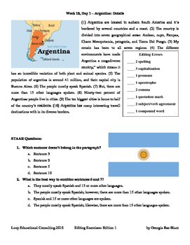 Editing with SSS - Week 18 - Argentina