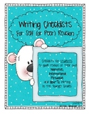 Writing Checklists for Elementary Students ~ Self and Buddy Checks