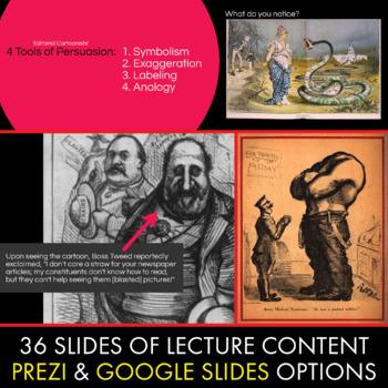 Editorial Cartoons, Use Political Cartoons to Teach Persuasion, Rhetoric, CCSS