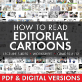 Editorial Cartoons, Use Political Cartoons to Teach Persuasion, Rhetoric, CCSS