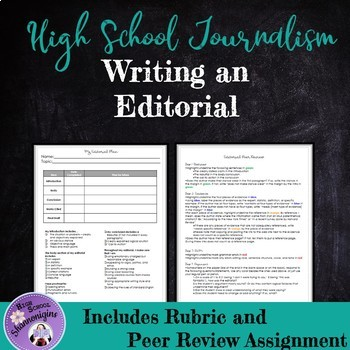 editorial examples for middle school
