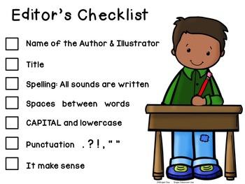 Writing Editor's Checklist