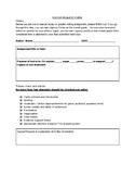 Editors Request Form