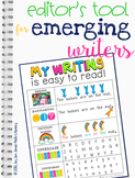 Editor's Strategy Card for Emerging Writing: A Tool of Wha