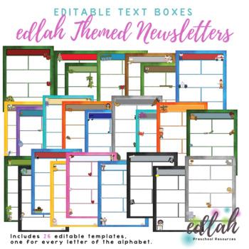 Edlah Themed Newsletter Template Mega Pack for WORD