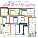 Edlah Themed Newsletter Template Mega Pack for WORD_Generation 1