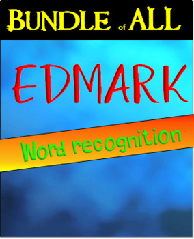 Edmark sight word recognition practice BUNDLE of ALL pages special education
