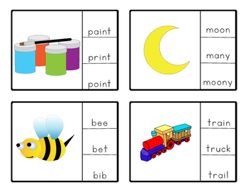 Clip Cards: Special Ed Sight Words  Set 2