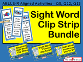 Sight Word Clip Strip Level 1 Bundle: Sight Words, Phrases, and Sentences