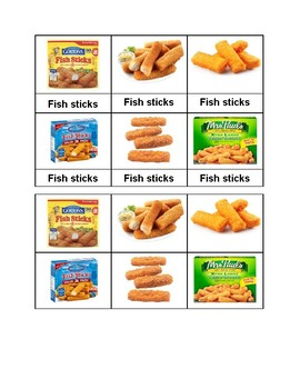 Attractive Edmark Functional Academic Grocery Words 11 20 Sort Pictures To Words  Grocery Words