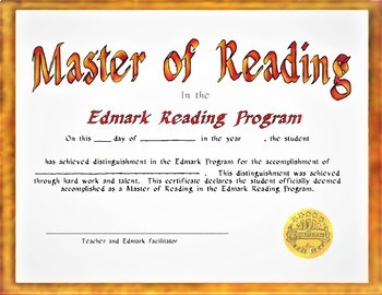 Edmark Materials:  FREE Certificates of Achievement for Special Education