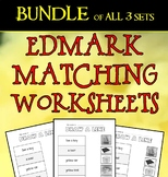 Edmark Materials: NO PREP MATCHING phrase to picture BUNDLE