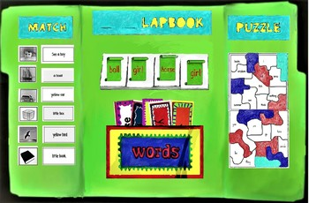 Edmark NO PREP LAPBOOK BUNDLE all 10 sets special education