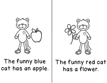 Sight Word Read and Color Books Set 3: (4 Books)