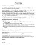 Edmodo - Parent & Student Approval Form