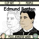 Edmund Barton Clip Art