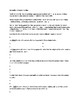 Edouard Manet Biography Article and Assignment Worksheet