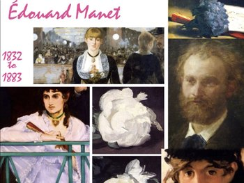 Édouard Manet - French Impressionist Painter - Art History - 1800s - 178 Slides