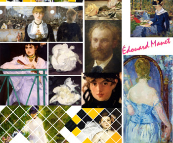 Édouard Manet Impressionist Painter FREE POSTER