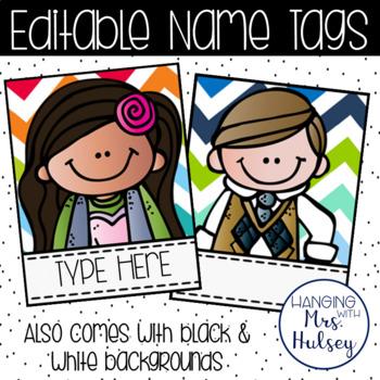 Edtable Name Tags
