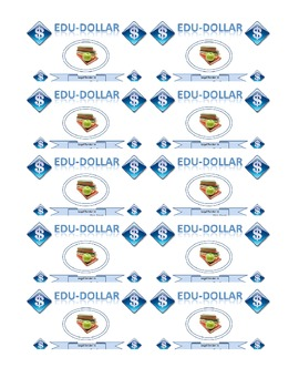 Edu-Dollar Token Economy Template